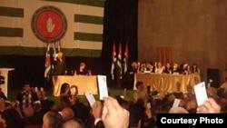 На конференции «Единой Абхазии» были избраны 103 делегата. Они примут участие в VI съезде партии,который состоится до Нового года