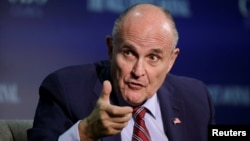 Rudy Giuliani is the former mayor of New York City and is believed to be a leading candidate to become U.S. President-elect Donald Trump's secretary of state.