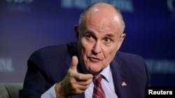 Rudy Giuliani, la întâlnirea de la Wall Street Journal