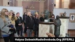 Виставка скульптур Григора Крука в Івано-Франківському художньому музеї