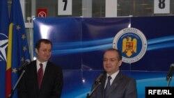 Vlad Filat și Emil Boc