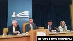 Konferencija za medije u Pokrajinskoj vladi, Novi Sad