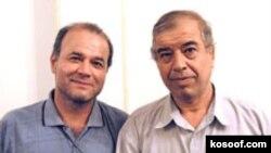 منصور اصانلو ، نفر سمت چپ (عکس : سایت کسوف)