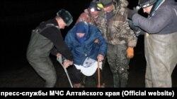 Эвакуация жителей в зоне подтопления