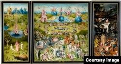 """""""Лазаттын жердеги багы"""". И. Босх(1490-1510). Прадо музейи. Мадрид"""