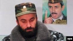 Chechen separatist Shamil Basayev in 2001