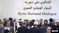 هيچ کدام از شرکت کنندگان در نشست هفته گذشته مخالفان سوری در دوحه پايتخت قطر در نشست تهران حضور نداشتند.