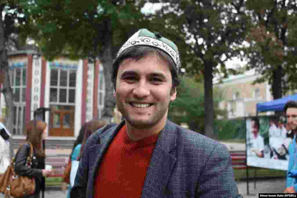 Наш гость Тимур из Худжанда, Таджикистан.