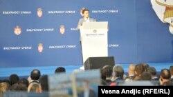 Brnabić: Srbija neće da podrži pretnje, uvrede i podele