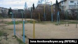 Спортивная площадка. Архивное фото