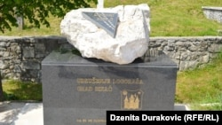 Otkriveno spomen-obilježje u Mjesnoj zajednici Ripač, 9. maj 2016
