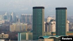 Город Алматы.