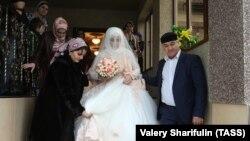 Свадьба на Северном Кавказе, иллюстративное фото