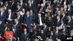 Nga ceremonia e inaugurimit të Papës...
