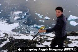 Андрій Мочурад під час мандрівки