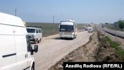 Gəncə-Şəmkir yolu