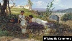 Генрык Сэмірадзкі, «Талісман» (1880).
