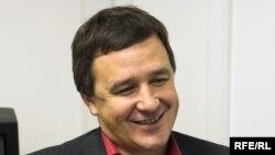 Анатолий Ермолин в студии Радио Свобода