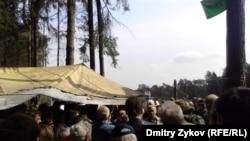 Подмосковье, Цаговский лес, 21 апреля 2012