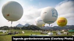 Гонки воздухоплавателей на кубок Гордона Беннета. Фото: legends.gordonbennett.aero.