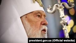 Патріарх Філарет наполягає, що Українська православна церква Київського патріархату існує
