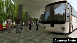 Терминали автобусҳои Душанбе