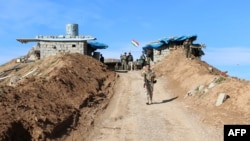 پیشمرگهها نیروی نظامی اقلیم خودمختار کردستان عراق هستند.