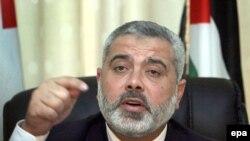 اسماعیل هنیه، نخست وزیر دولت حماس در نوار غزه