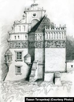 Паўночная вежа, рэканструкцыя Паўла Татарнікава