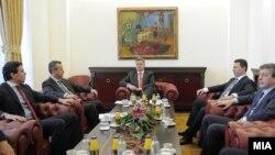 Архивска фотографија - Координација на државниот врв во пресрет на посетата на посредникот на ОН Метју Нимиц.