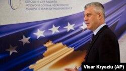 Presidenti i Kosovës Hashim Thaçi