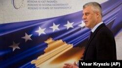 Predsednik Kosova Hashim Thaçi