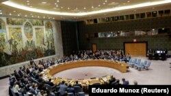 Заседание Совета Безопасности ООН в Нью-Йорке, 13 апреля 2018