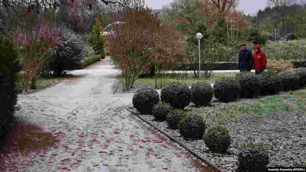 Ушедшая неделя ознаменовалась для Крыма первым снегом