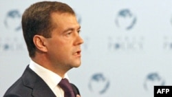 Russian President Dmitry Medvedev will host a summit on Nagorno-Karabakh next month