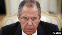 "The surname of Sergei Lavrov, the long-serving Russian foreign minister who has been a prominent and outspoken figure since the crisis erupted between Ukraine and Russia nearly two years ago, was translated as ""sad little horse."""