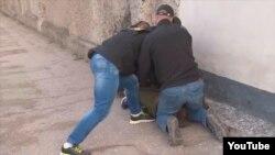 Задержание Дмитрия Штыбликова в Севастополе