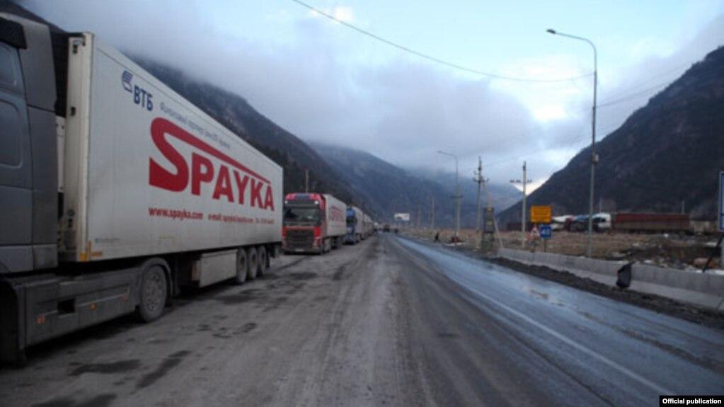 Грузия опубликовала руководство по перемещению грузовиков