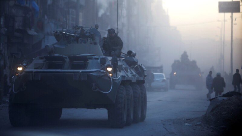 In Syria And Ukraine, Russia Positions Itself As Solution To Problems It Created