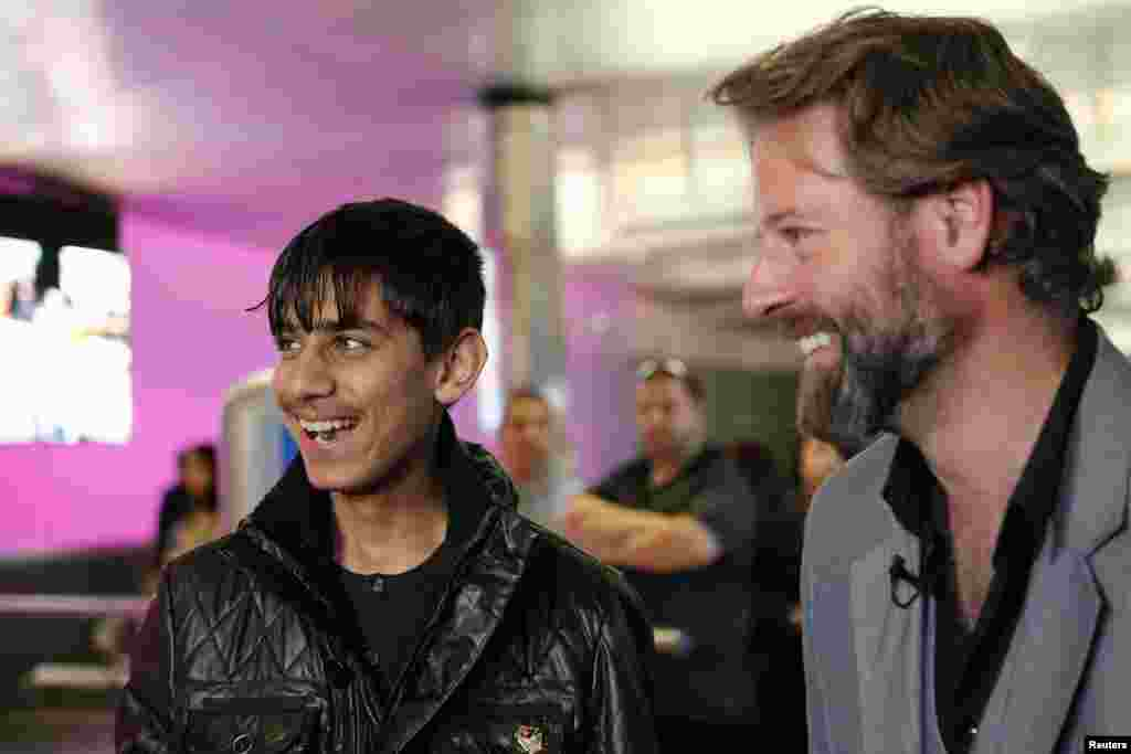 "Афганский актер на церемонии ""Оскар"" в Лос-Анджелесе"