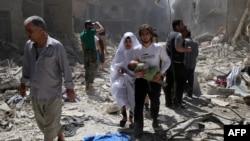 Alepo 29. aprila 2016.