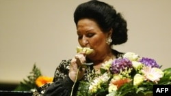 Spanish opera soprano Montserrat Caballe (file photo)