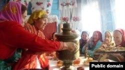 Илтән-Бота авылында Покрауны бәйрәм итәләр