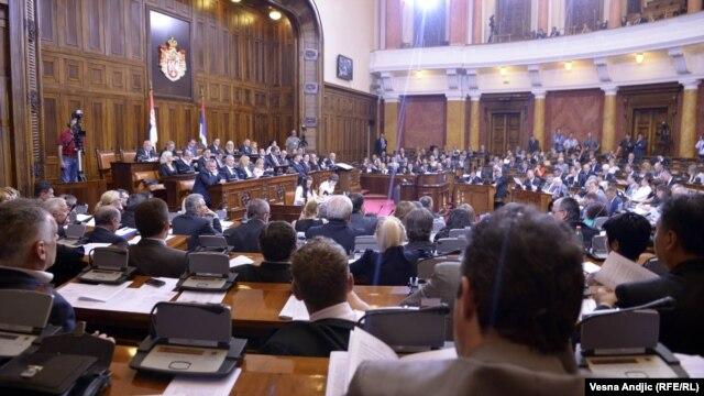 Jedna od sednica Skupštine Srbije