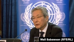 Tadamichi Yamamoto heads the UN Assistance Mission in Afghanistan. (file photo)