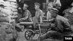 Беренче дөнья сугышында Русия империясе солдатлары