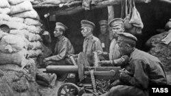 Ruski vojnici, Prvi svetski rat