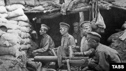 Июнь 14-го. Русские солдаты на позициях