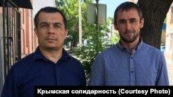 Advokat Emil Kurbedinov ve Ruslan Bekirov