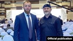 Иса Ибрагимов представлял Чечню вместе с помощником главы республики Турко Даудовым
